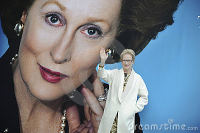 Meryl Streep, Margaret Thatcher Editorial Stock Image