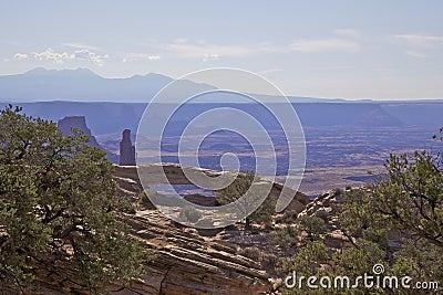 Mesa Arch Landscape Canyonlands N.P.