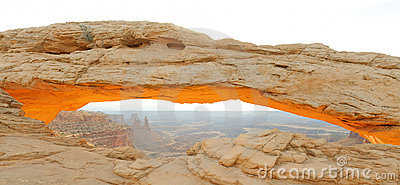 Mesa Arch in morning