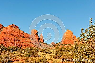 Mesa rock formations Arizona