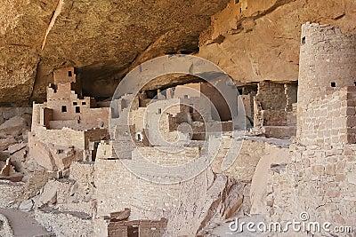 Mesa Verde Ruins Editorial Image