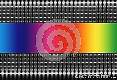 Mesh and Rainbow Spectrum