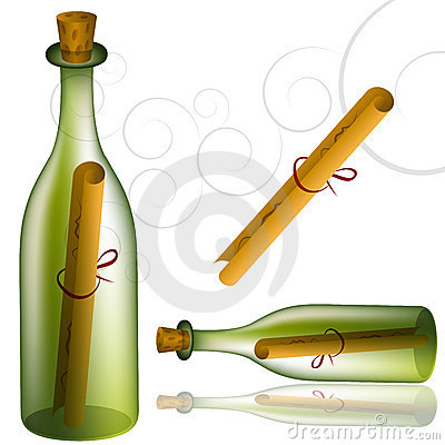 Message Bottle Set