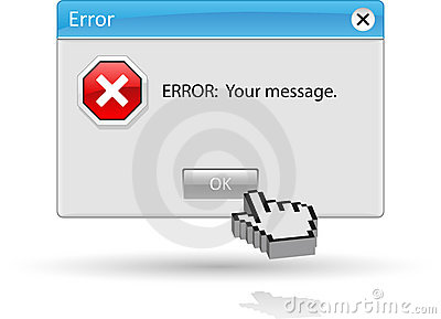 Message error