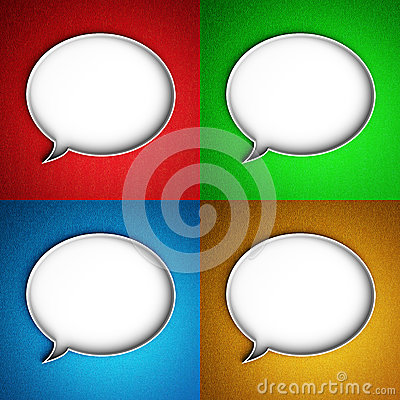 Message icon. Speech bubble.