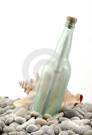Free Message In A Bottle Royalty Free Stock Image - 113226