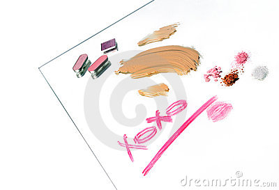 Message in make-up
