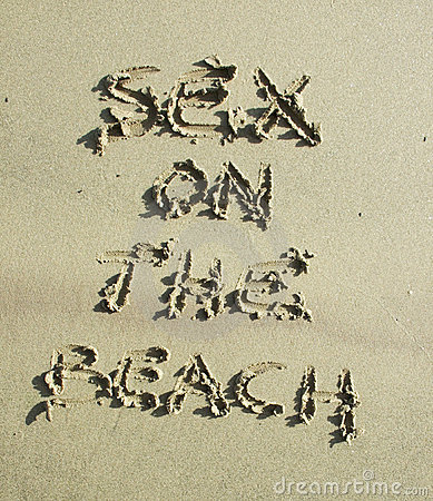 Free Message On Beach Sand Stock Images - 300504