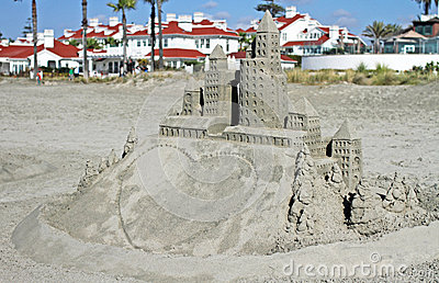 Message Ready Sandcastle