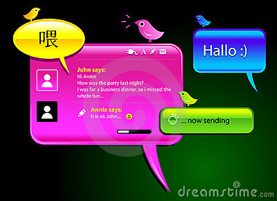 Messaging balloons