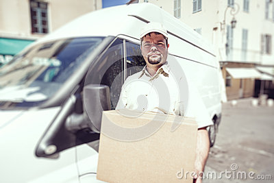 Package delivery or parcel delivery is the delivery of shipping containers, parcels, or high value mail as single shipments. The service is provided by most postal systems, express mail, private courier companies, and less than truckload shipping carriers.