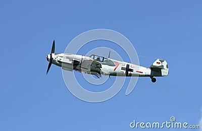 Messerschmitt Bf-109 Editorial Image
