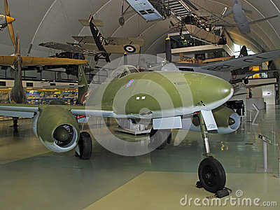 Messerschmitt Me 262 Schwalbe Editorial Stock Photo