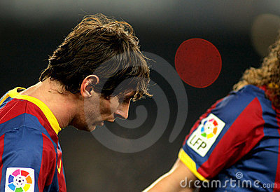 Messi of Barcelona Editorial Photo