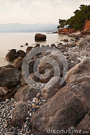 Messinian rocky seascape