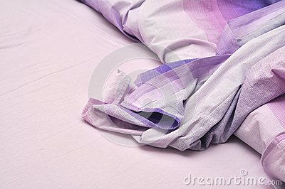 Messy Bedclothes Royalty Free Stock Images - Image: 21401129