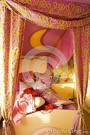Messy children s room