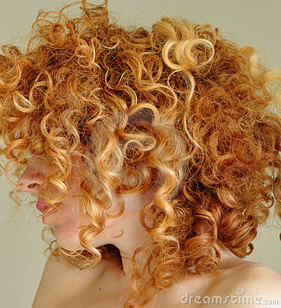 Free Messy Curly Red Hair Royalty Free Stock Photo - 9038335