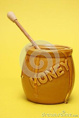 Messy Honey Jar