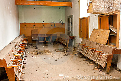 Messy interior