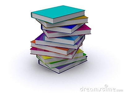 Messy Pile Of Books Clip Art Messy stack of books