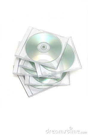 Free Messy Stack Of Cd Jewel Cases Royalty Free Stock Image - 4651076
