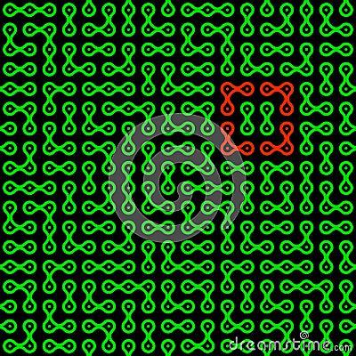 Metaballs seamless pattern