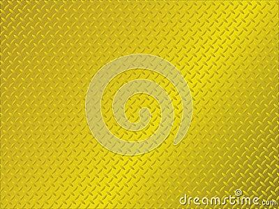 Metal anti slip gold