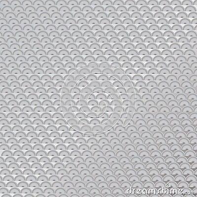 Metal anti slip semi circle
