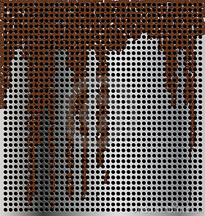 Metal background with streaks