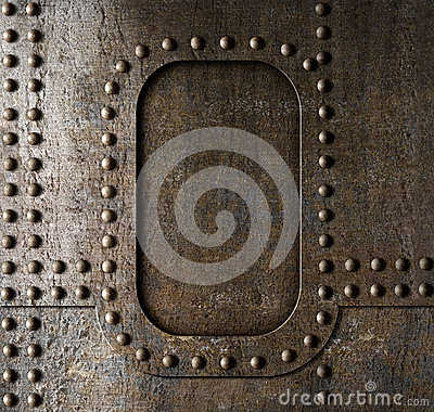 Free Metal Background With Rivets Stock Photos - 34650073