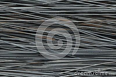 Metal bars armature pattern