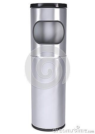Metal überschüssigen Behälter