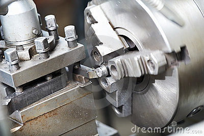 Metal blank machining process
