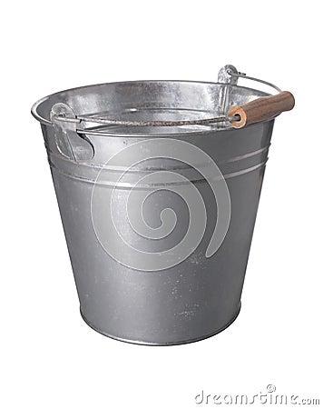 Free Metal Bucket Royalty Free Stock Image - 14799206