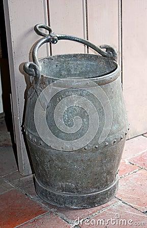 Metal Bucket.