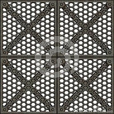Free Metal Cage Door Royalty Free Stock Image - 3888576