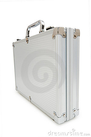 Metal case isolated o