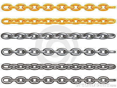 Metal Chains Stock Photo - Image: 4072090