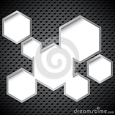 Metal circular grid