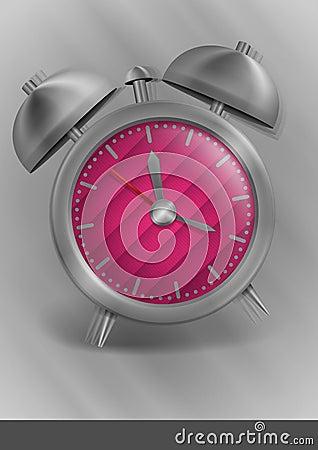 Metal Classic Style Alarm Clock