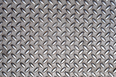 Metal Cross Grid Texture