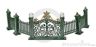 Metal Curved Fence