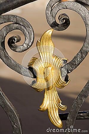 Free Metal Decoration Detail Royalty Free Stock Image - 6799756