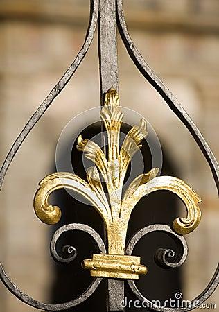 Free Metal Decoration Detail Royalty Free Stock Photo - 6799875