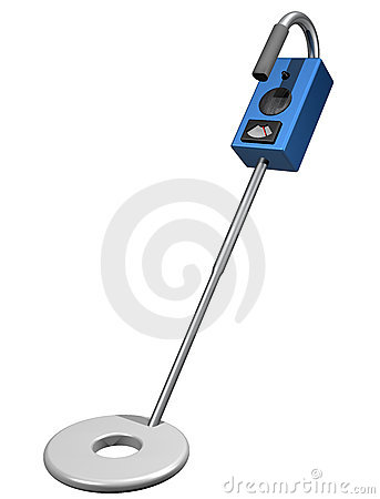 Metal Detector Stock Photo - Image: 10492680