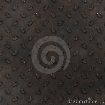 Metal Diamond Plate BackGround