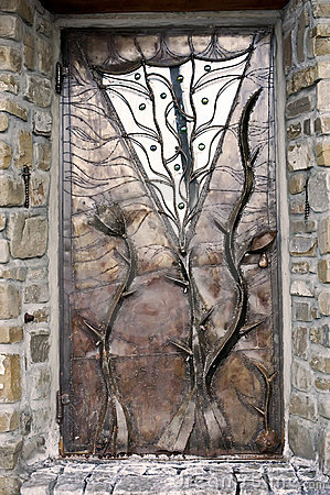Free Metal Door Royalty Free Stock Photo - 18836615