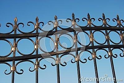 Metal fence 01