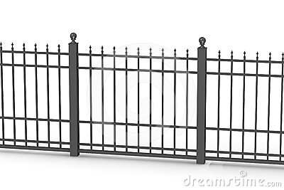 Metal fence 5